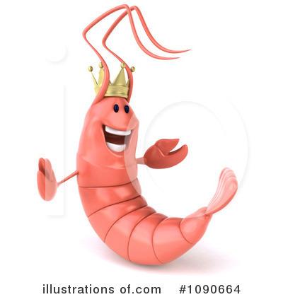 Shrimp Clipart #1090664.
