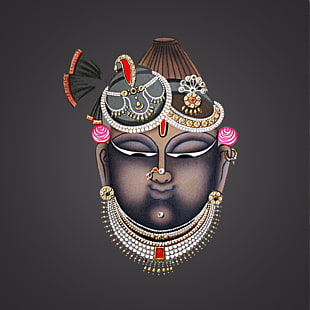 6 shrinathji PNG cliparts for free download.