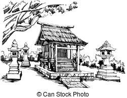 Shrine Clip Art Vector Graphics. 821 Shrine EPS clipart vector and.
