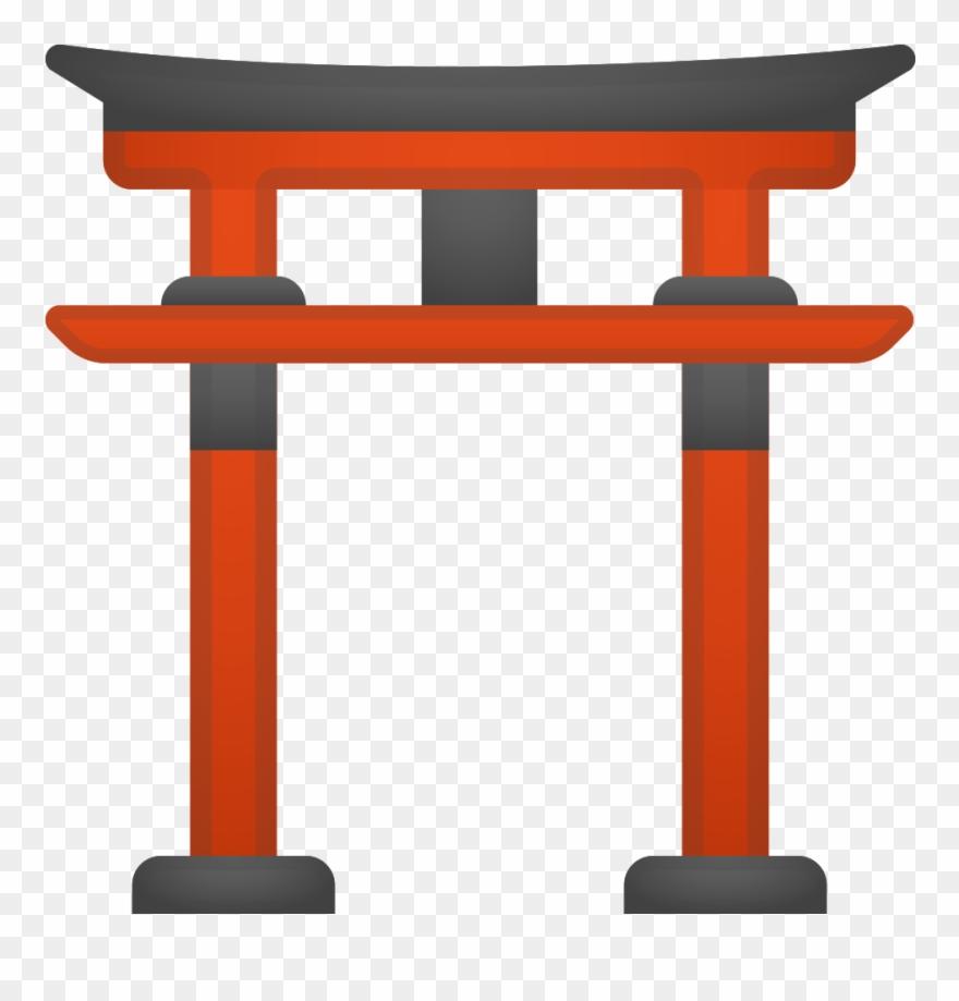 Shrine Clipart Shintoism.