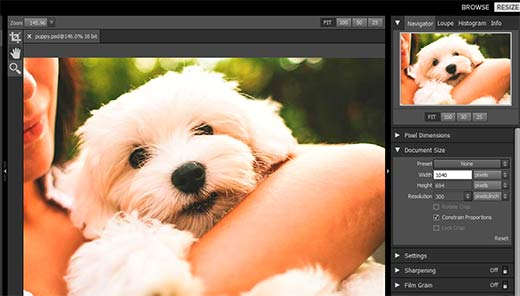 How to Resize and Make Images Larger without Losing Quality.