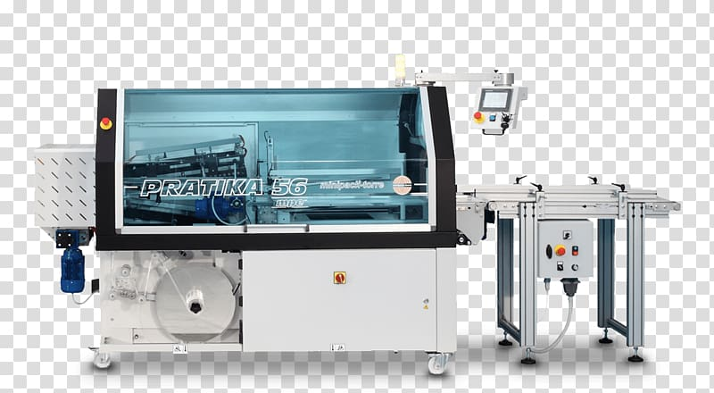 Packaging machine Shrink wrap Packaging and labeling.