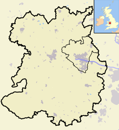 Shropshire Outline Map With UK 2009png Clipart.