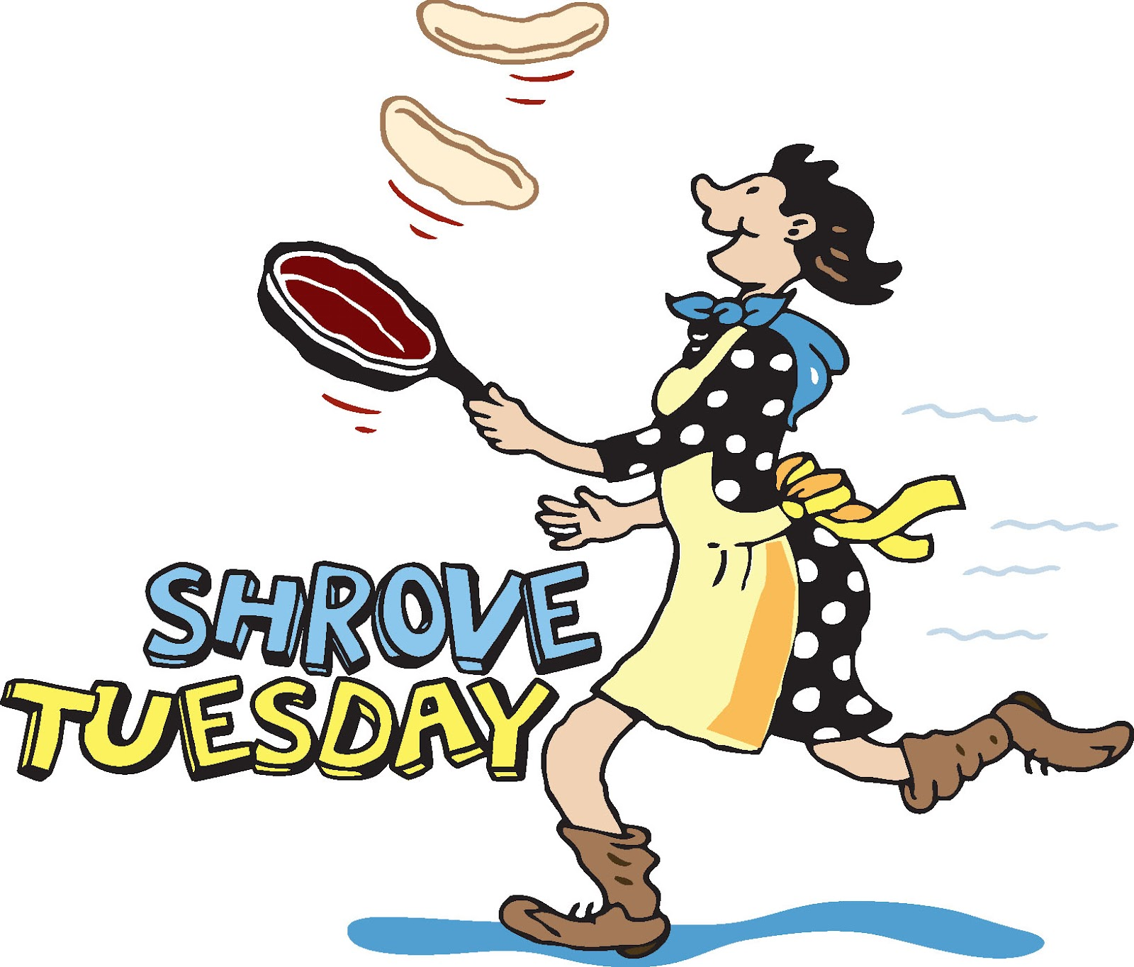Pancake Shrove Tuesday Clip Art N3 free image.
