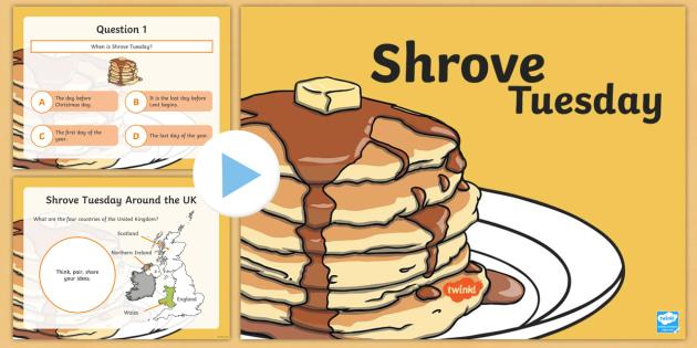 KS1 Shrove Tuesday PowerPoint.