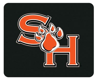 Sam Houston Custom Logo Mouse Pad, 8.5in.