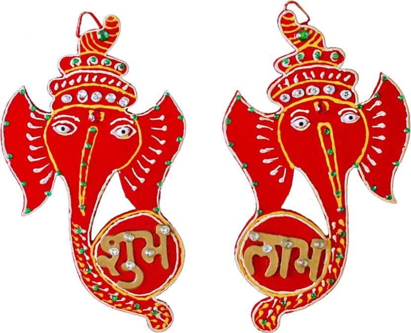 Subh labh for decorative your\'s house wall on festival.