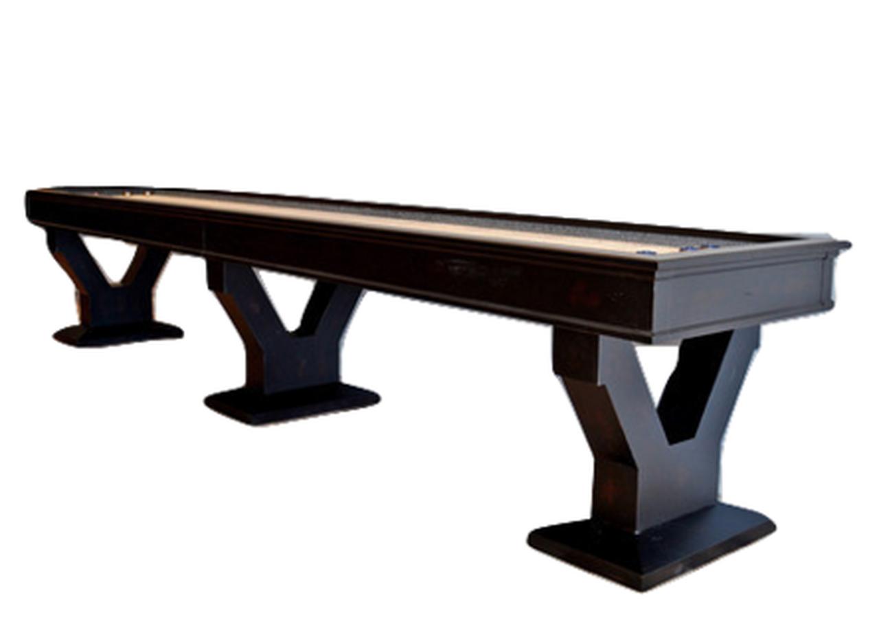 14\' Gaston Shuffleboard Table.