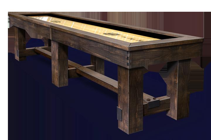 Breckenridge Shuffleboard Table by Olhausen.