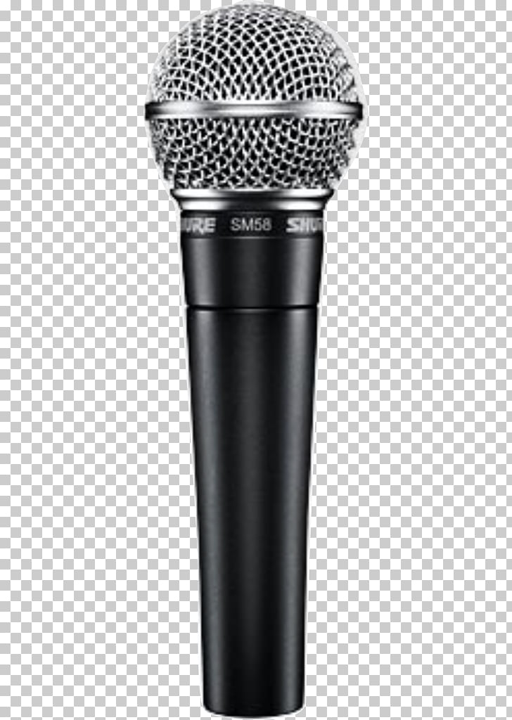 Shure SM58 Wireless microphone Shure SM57, microphone PNG.
