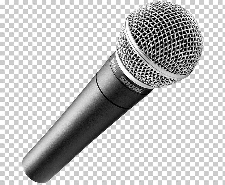 Shure SM58 Microphone Shure SM57 XLR connector, microphone.