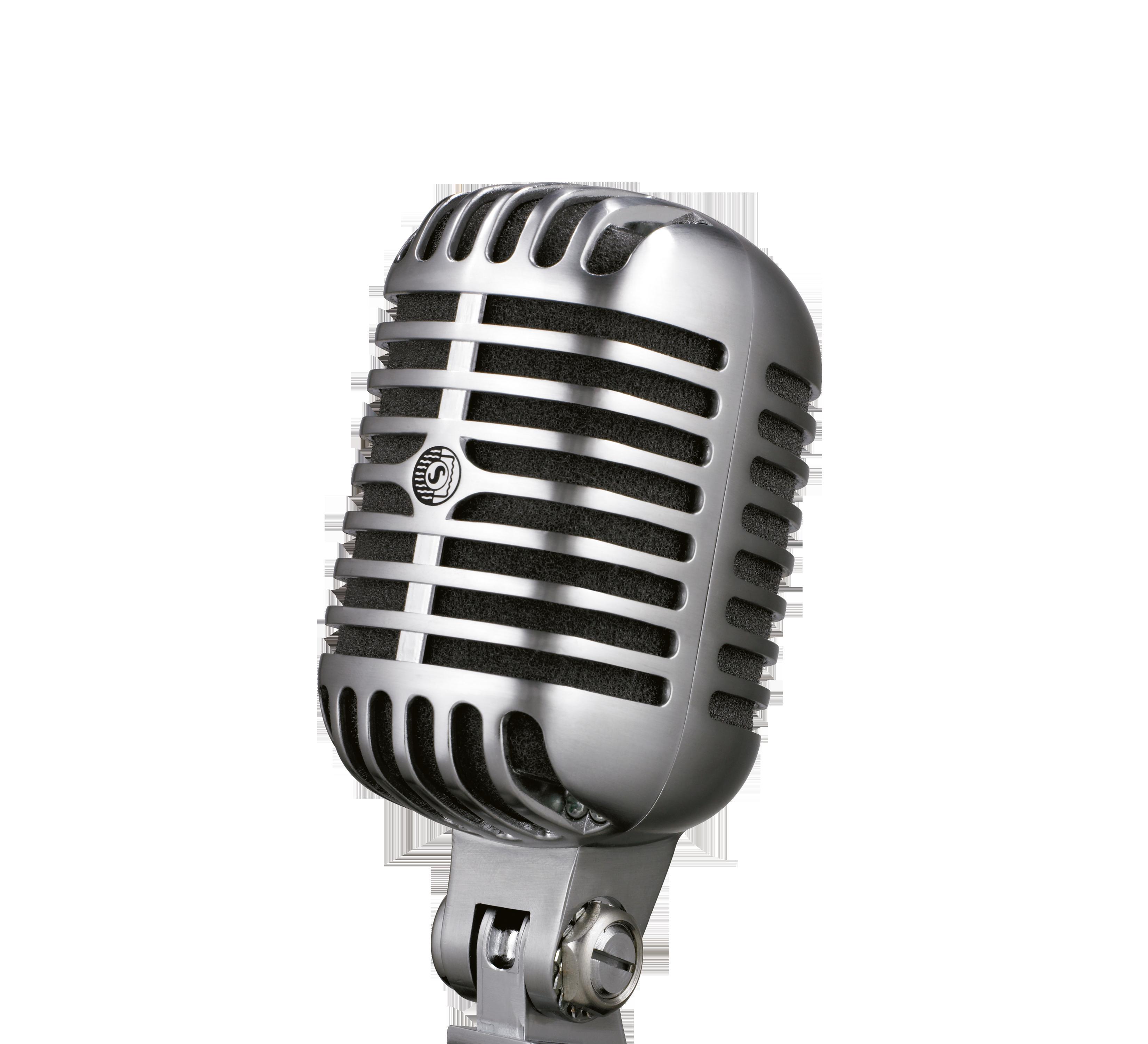 Shure: Microphones, Wireless microphones, in.