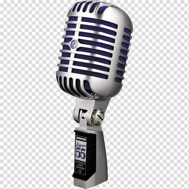 Gray condenser microphone , Microphone Sound Shure Beta 58A.