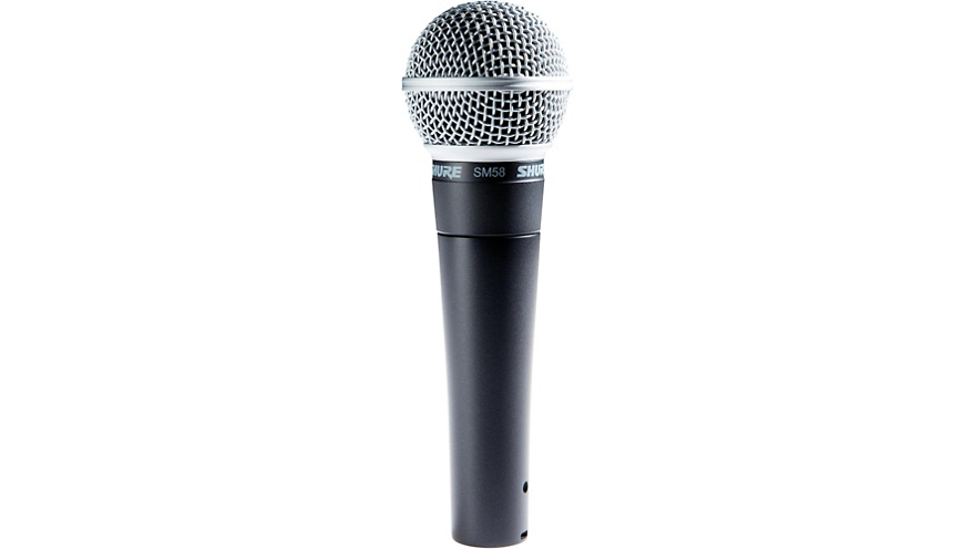 Shure SM58 Dynamic Handheld Vocal Microphone.