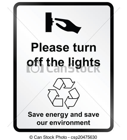 Clipart turn off light.