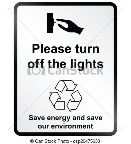 Clipart turn off light.