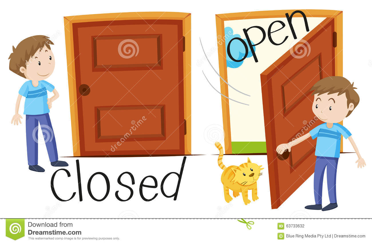 Slam The Door Clipart.
