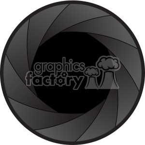 vector shutter icon graphic clipart. Royalty.