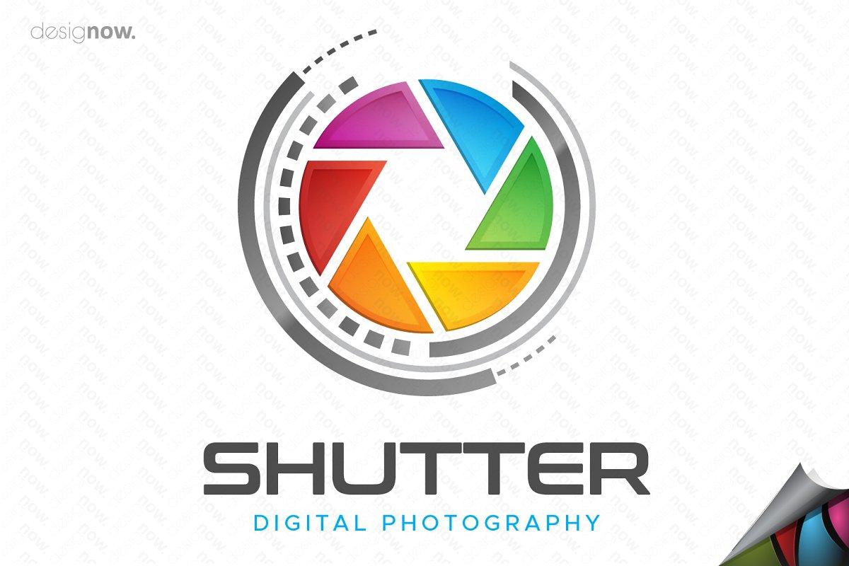 Photography Shutter Logo.
