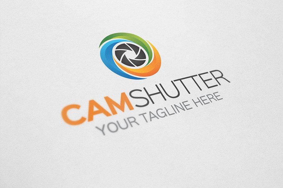 Camera Shutter Logo.