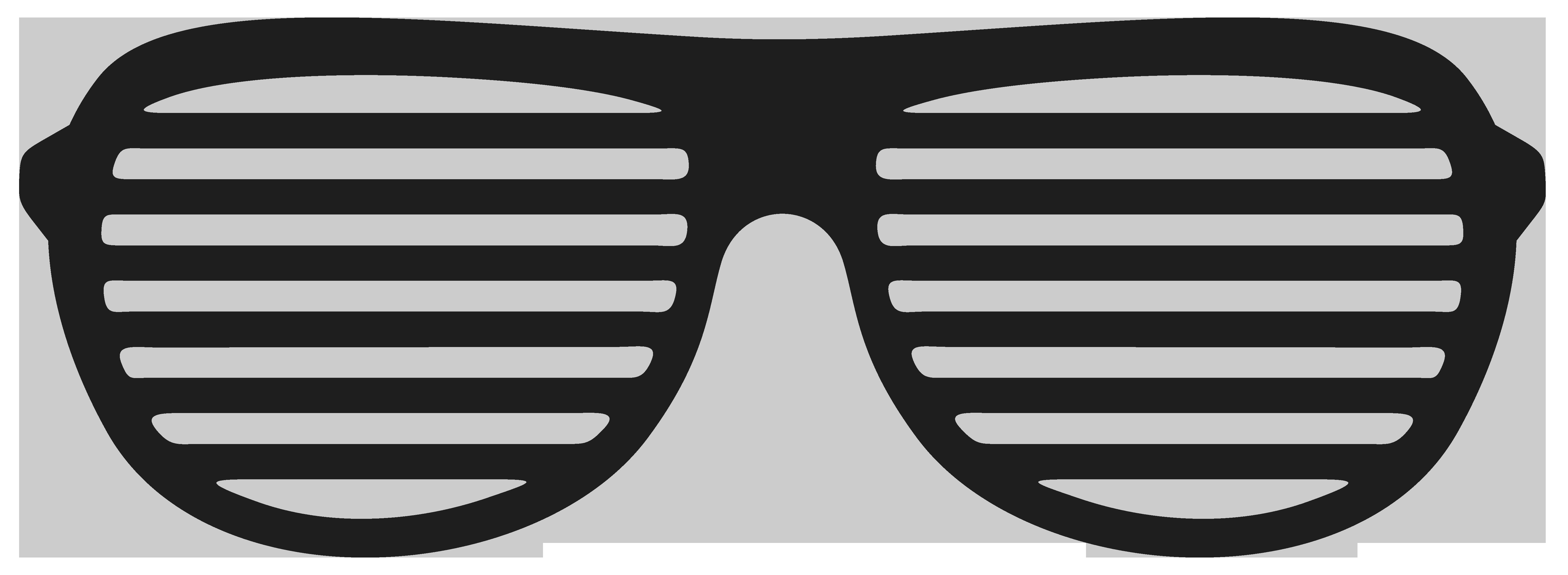 Shutter shades Aviator sunglasses Clip art.