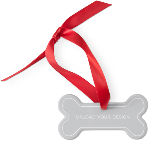 Upload Your Own Design Dog Ornament by Shutterfly.
