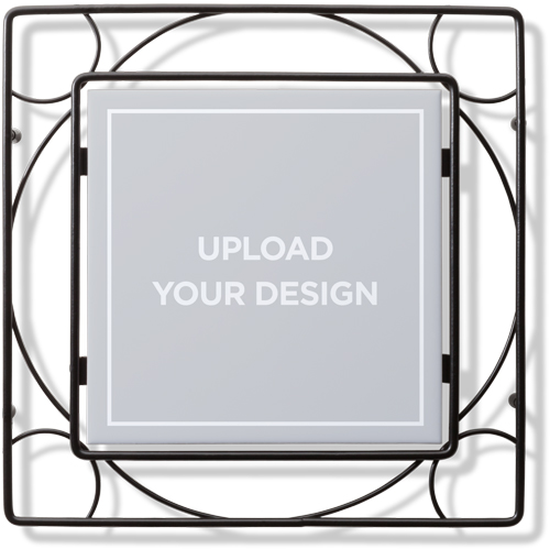 Upload Your Own Design Trivet by Shutterfly.