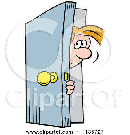 Shut The Door Clipart.