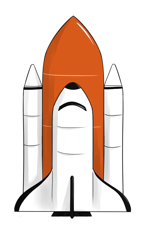 Free to Use & Public Domain Space Shuttle Clip Art.