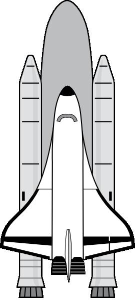 Space Shuttle Clip Art Free.