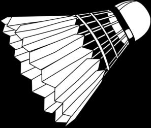 Badminton shuttlecock clipart.