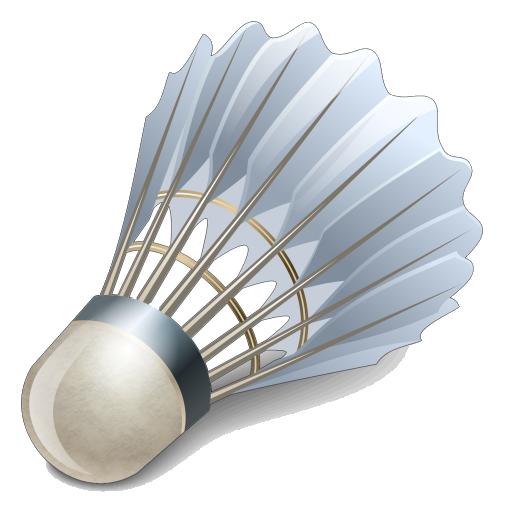 Shuttlecock Badminton Asia Racket.