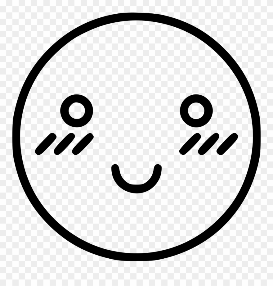 Shy Face Png Clipart (#1046132).