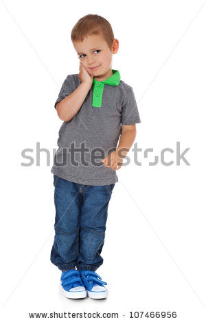 Shy Boy Stock Images, Royalty.