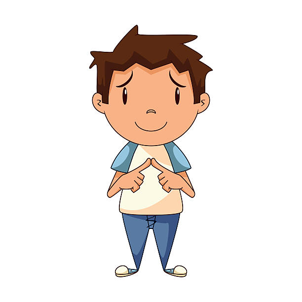 Shy Clipart Images.