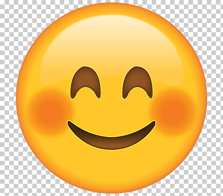 Blushing Emoji Smiley Face , Smile, smiley emoji PNG clipart.
