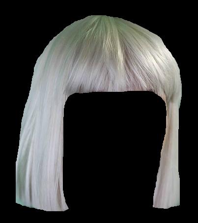 Наклейка Парик Sia PNG.