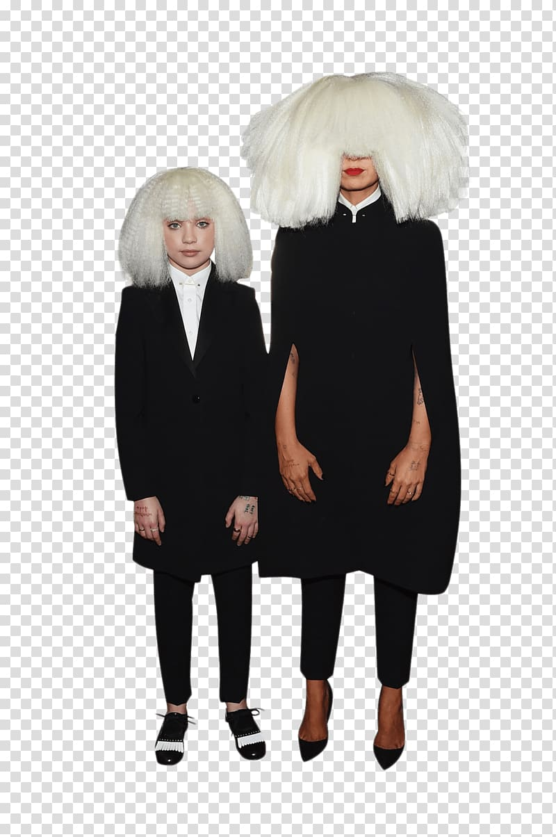 Sia, Sia and Maddie Ziegler transparent background PNG.