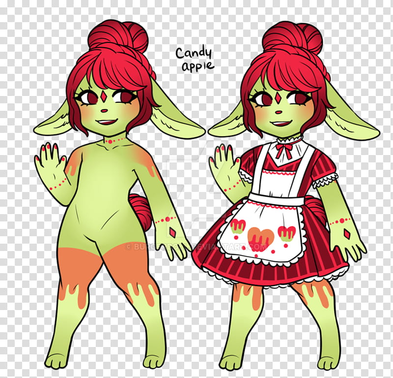 OPEN] Candy Apple Sia Adopt transparent background PNG.