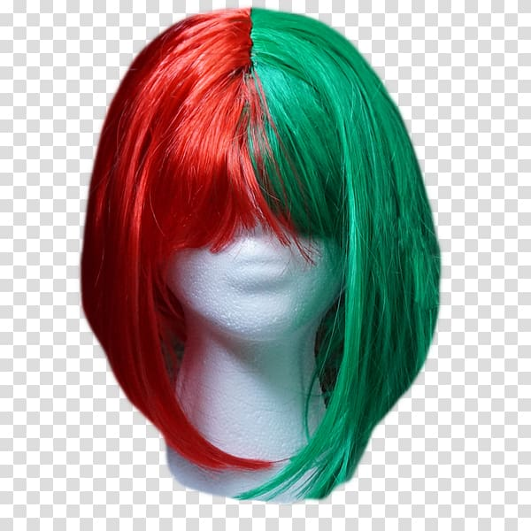 Red Wig Everyday Is Christmas Hair coloring Christmas Day.