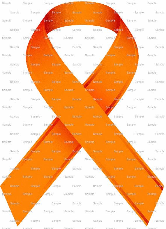 SIAD Self Injury Awareness Day Orange Ribbon by ArtofEricGunty.