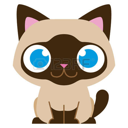 1,124 Siamese Cat Cliparts, Stock Vector And Royalty Free Siamese.