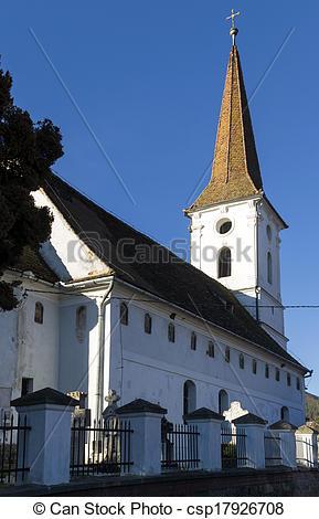 Stock Fotografie von Kirche, sibiel, heilig, dreieinigkeit.