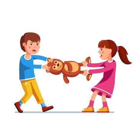 Siblings fighting clipart » Clipart Portal.