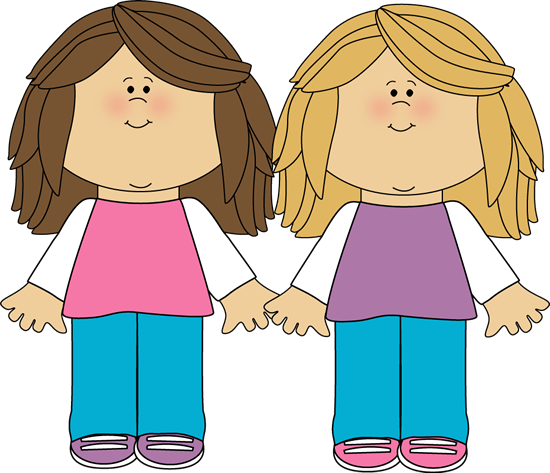 Siblings Clipart.