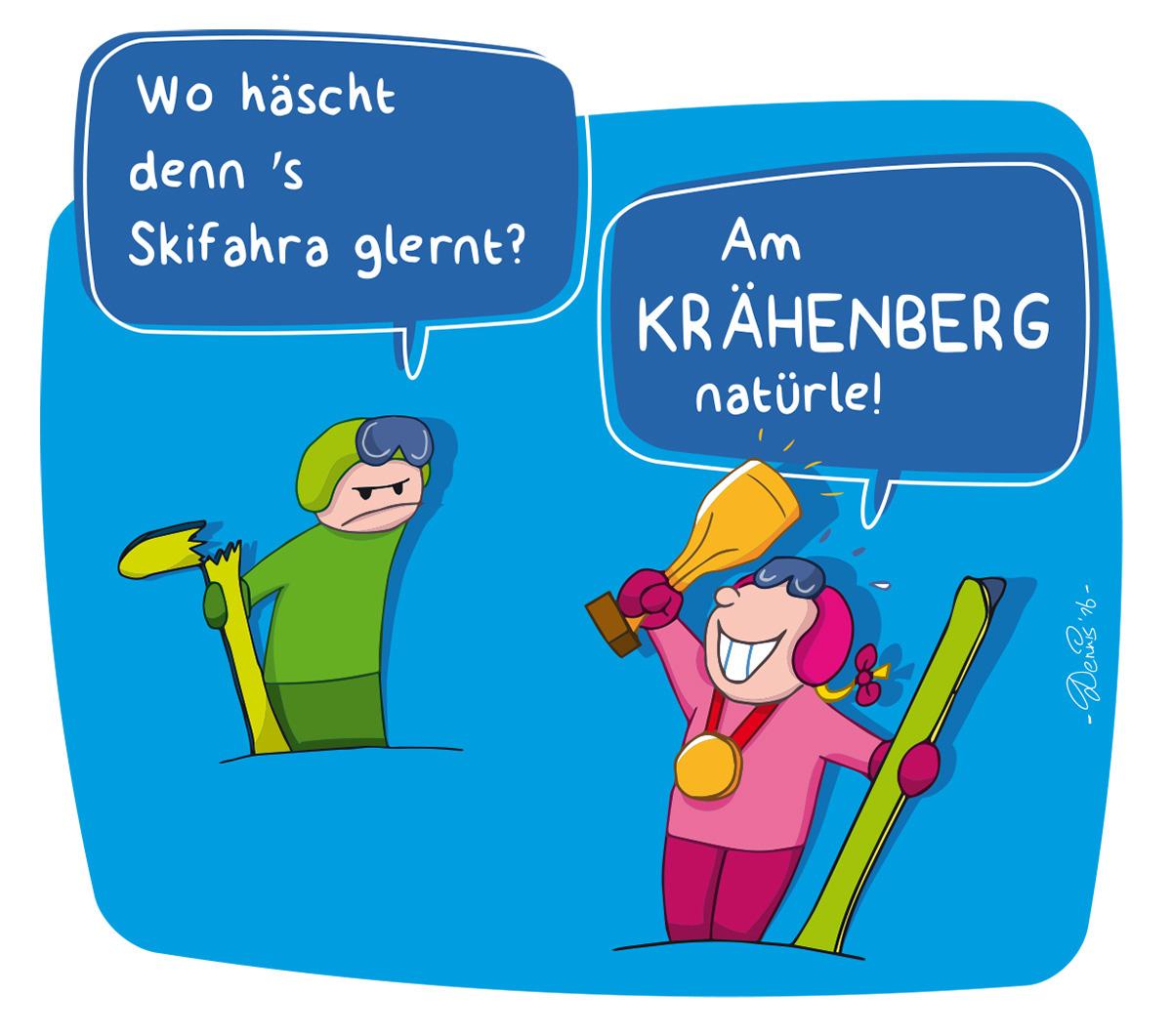 Skilifte Krähenberg Sibratsgfäll on Behance.