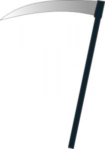Simple Sickle Clip Art Download.