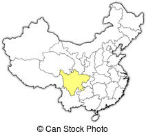 Sichuan province Vector Clip Art Royalty Free. 16 Sichuan province.