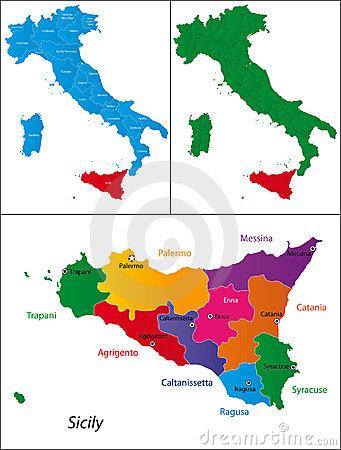 Sicilia Illustrazioni, Vettoriali E Clipart Stock.