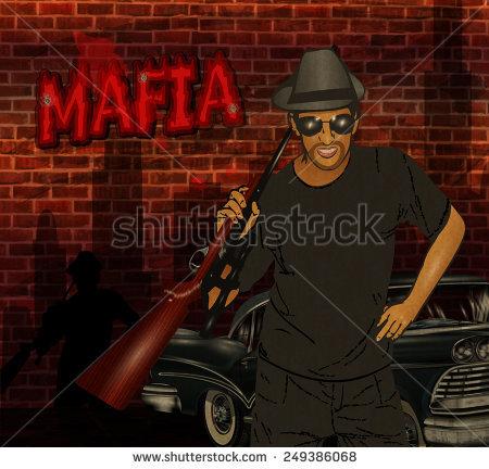 Sicilian Mafia Stock Photos, Royalty.